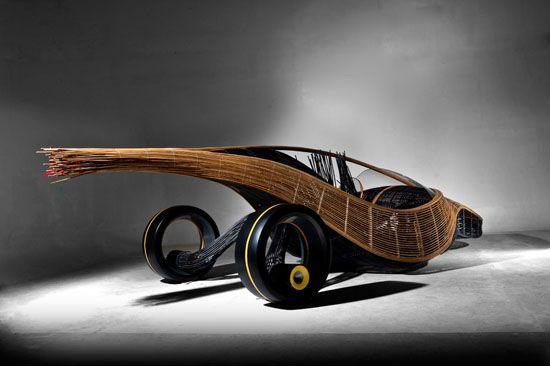 Kenneth Cobonpue bamboo car