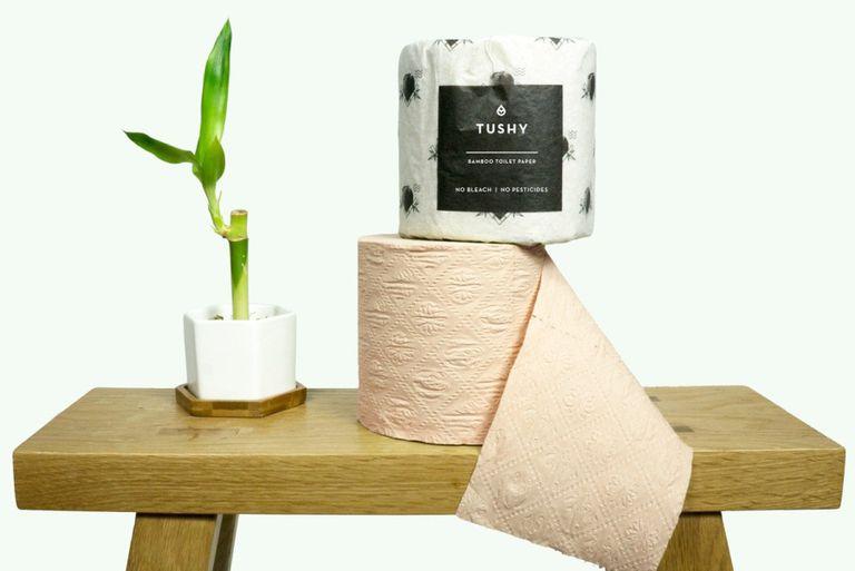 Tushy lanza papel higiénico de bambú para ayudarlo a reducir su huella de carbono