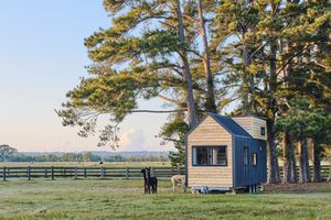 Sojourner Tiny House by Hauslein Tiny House Company exterior