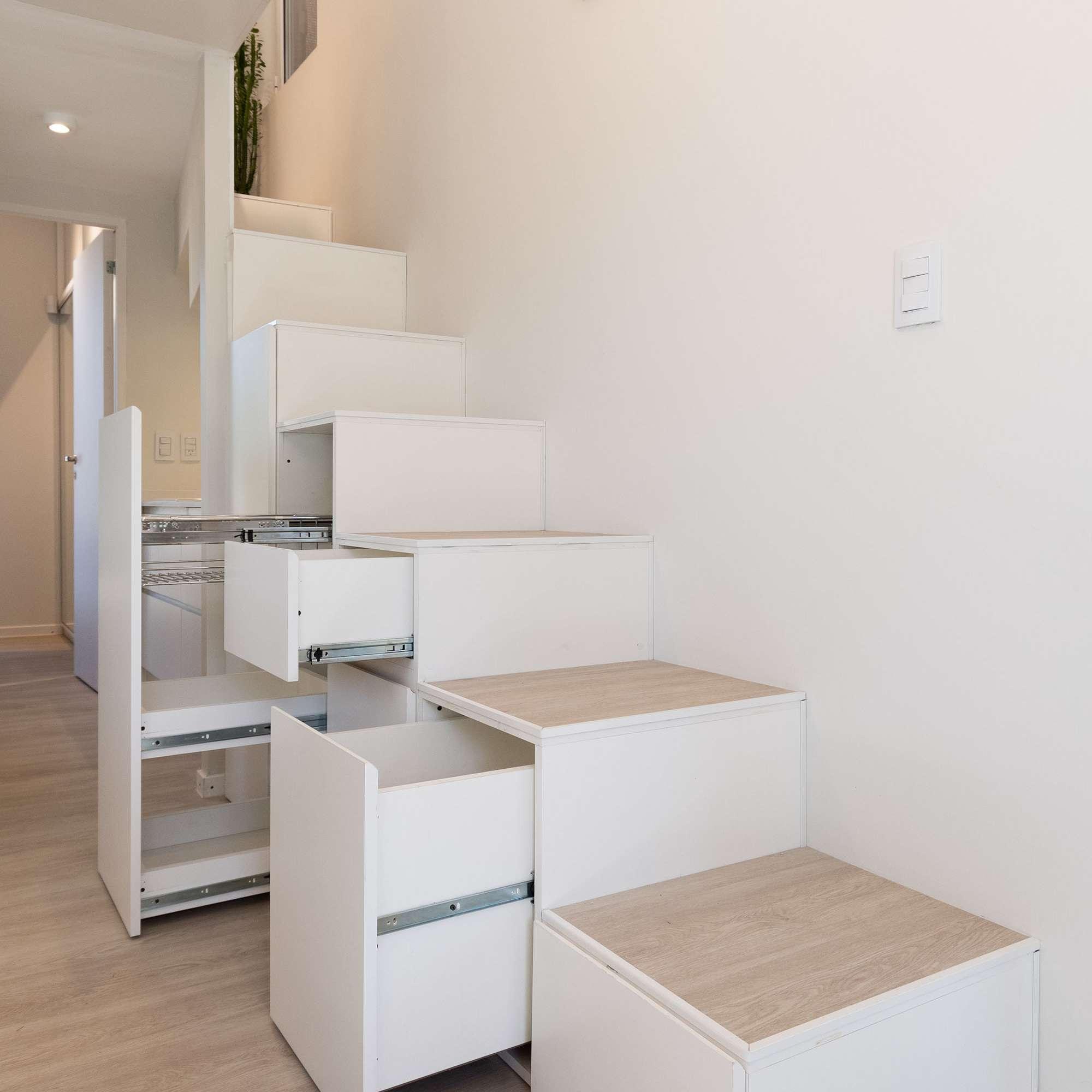 Hüga prefabricated house by Grandio stairs