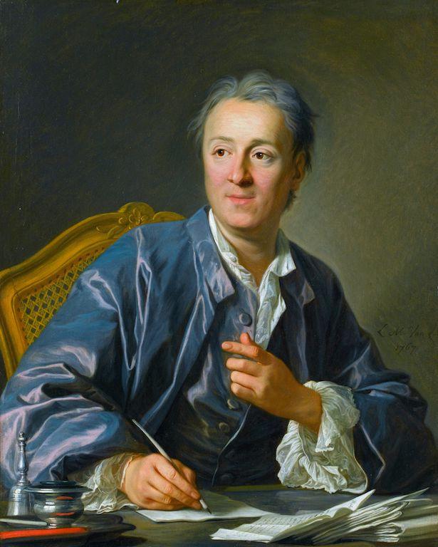 Denis Diderot, portrait
