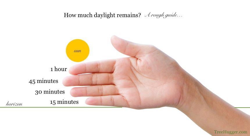 daylight remaining