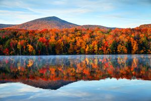 Autumn scene in Vermont
