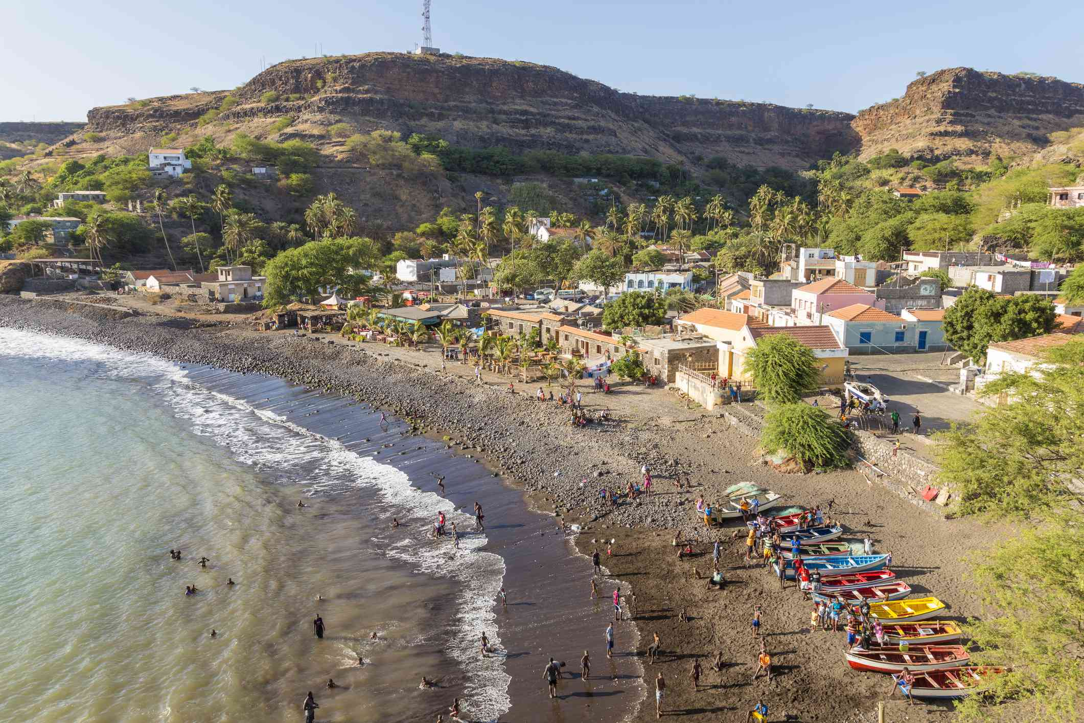Cabo Verde in the Atlantic Ocean