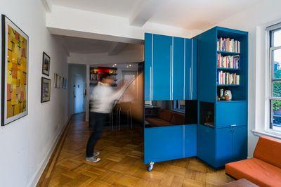 unfolding apartment michael k chen architects MKCA