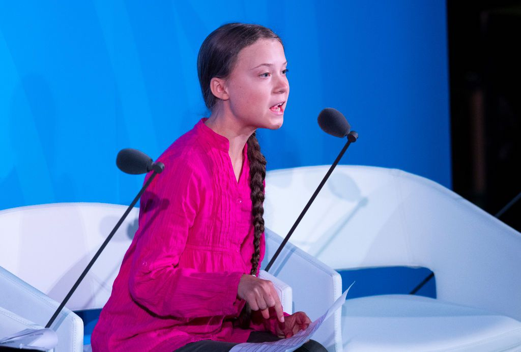 Greta Thunberg Delivers Searing Speech to World Leaders (Video)