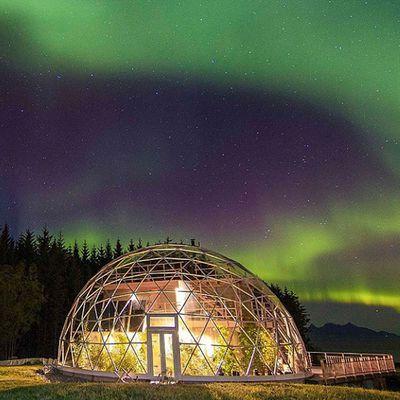 Arctic Circle Geodesic Cob home