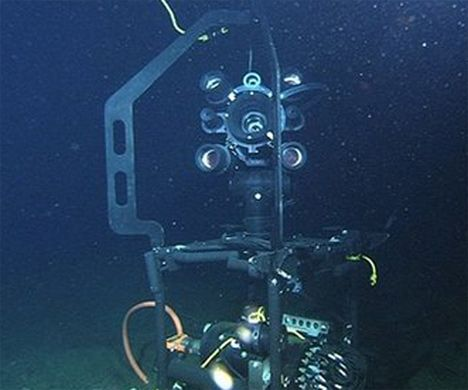 deep sea web cam monitoring climate change photo