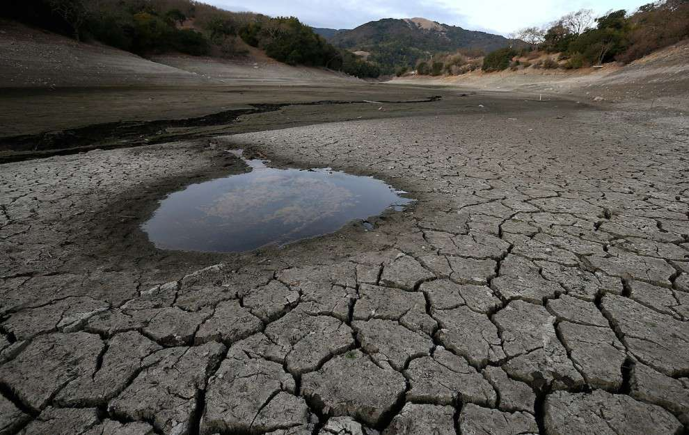Almaden Reservoir, California
