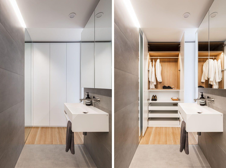 boneca micro-apartment brad swartz architect wardrobe