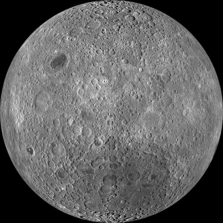 Hay un bulto en la luna que es 5 veces más grande que la isla grande de Hawái