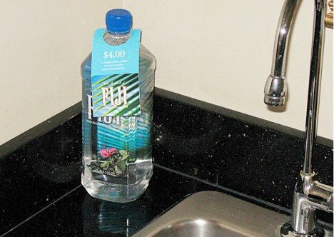 fiji bottled water photo