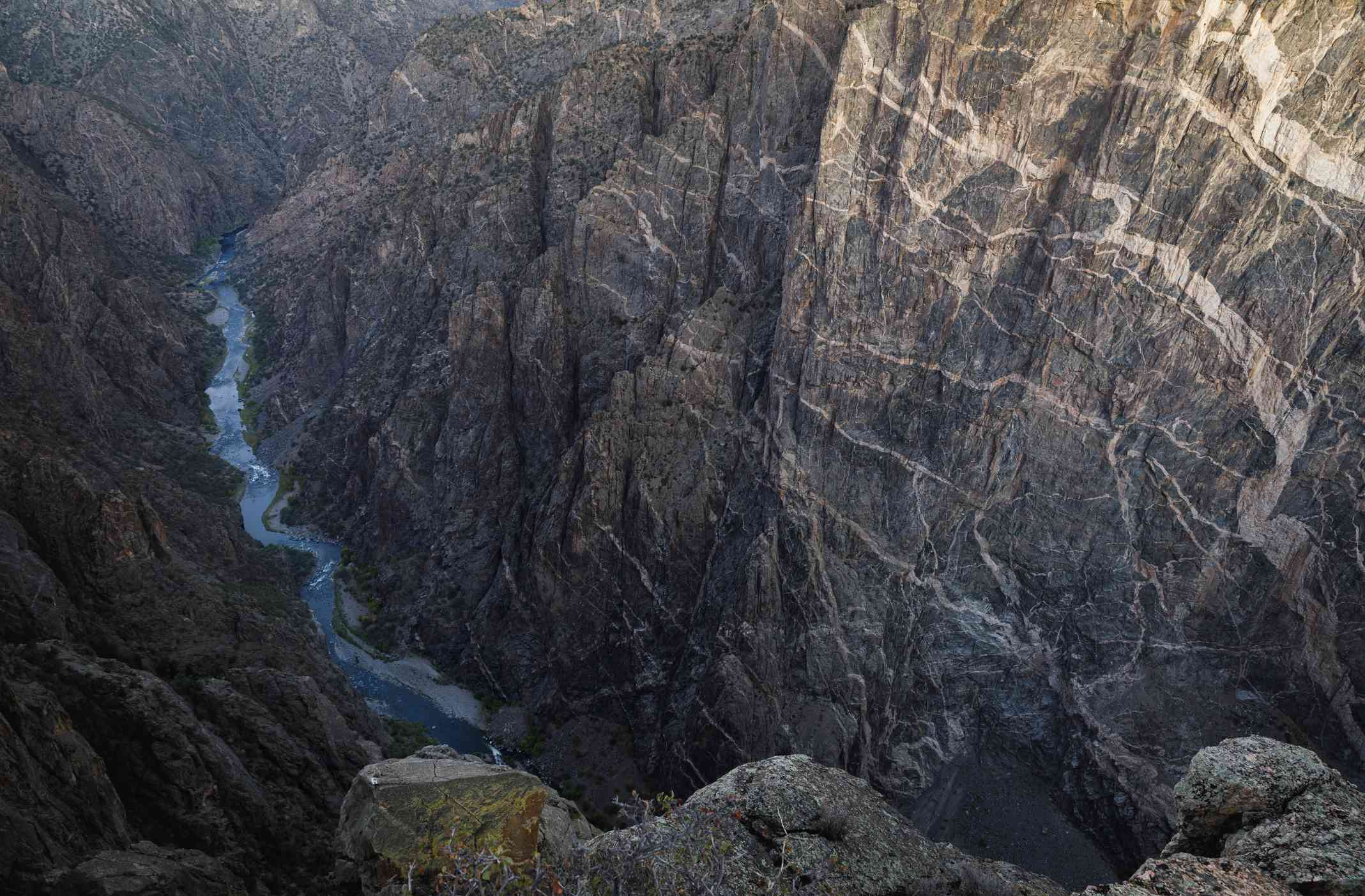 Cliffs of the Black Canyon of the Gunnison National Park