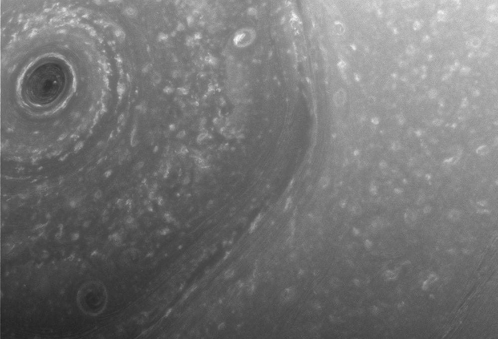 Saturn North Pole