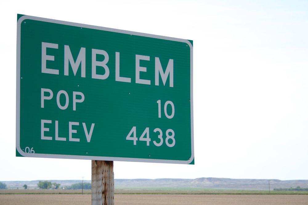 Emblem, Wyoming