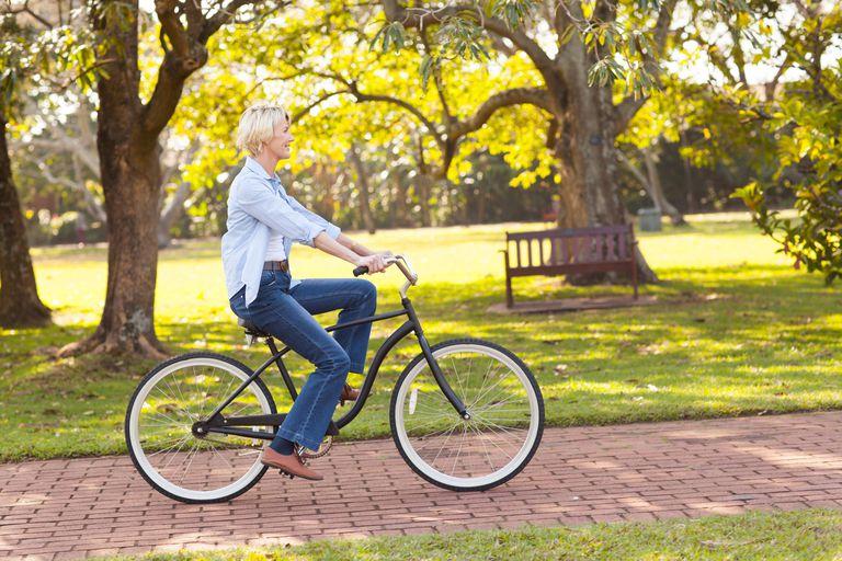 biking for fun or work