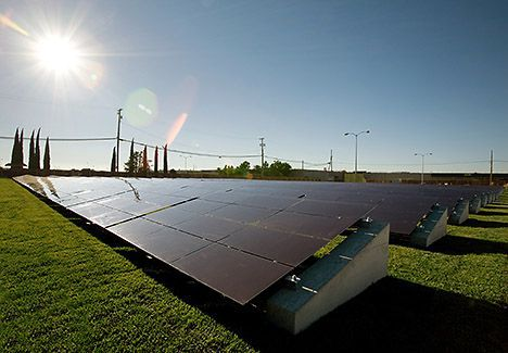 optisolar thin-film solar panels photo