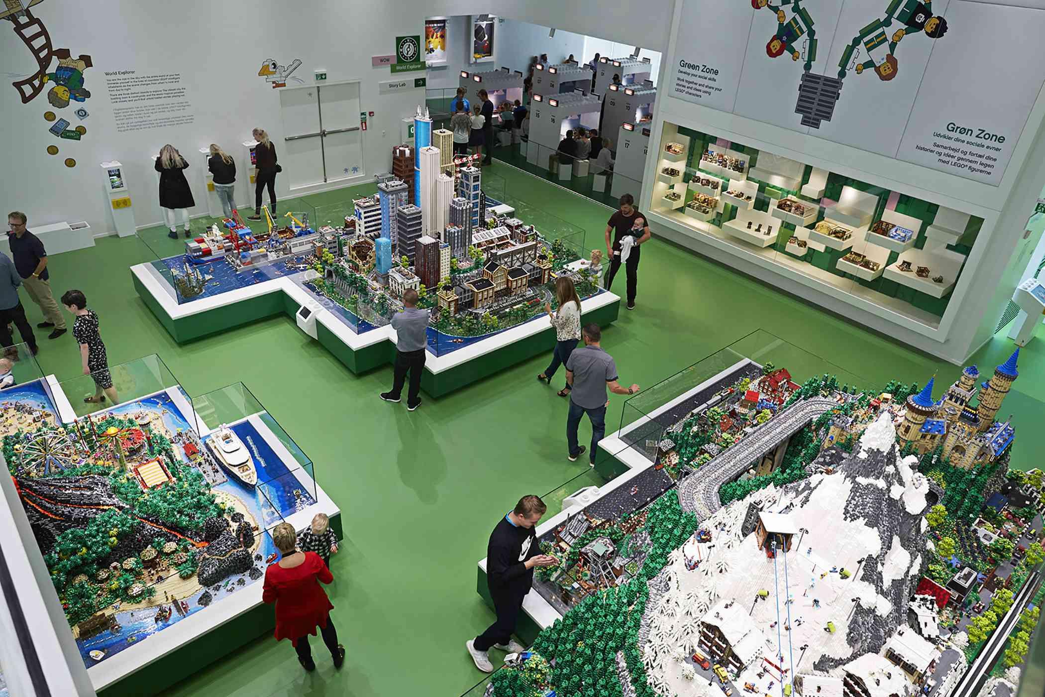 Green Zone at Lego House, Billund, Denmark
