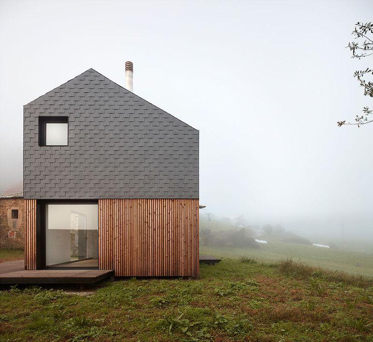 Esta casa prefabricada en España tardó cinco horas en erigirse