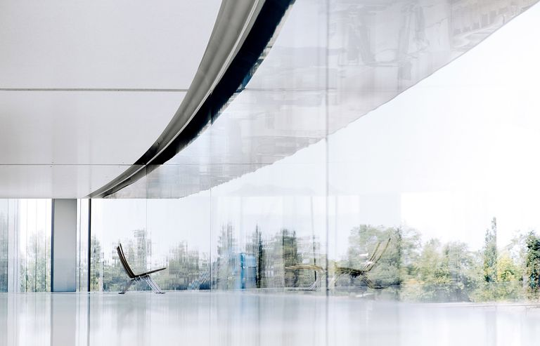 Apple Park windows