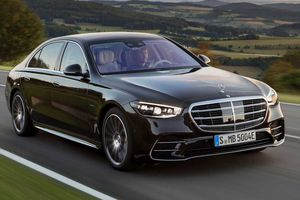The Mercedes-Benz S-Class 580e plug-in hybrid is for sale in Europe, but not the U.S. yet.