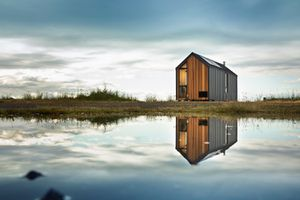 Modern Shed on the water