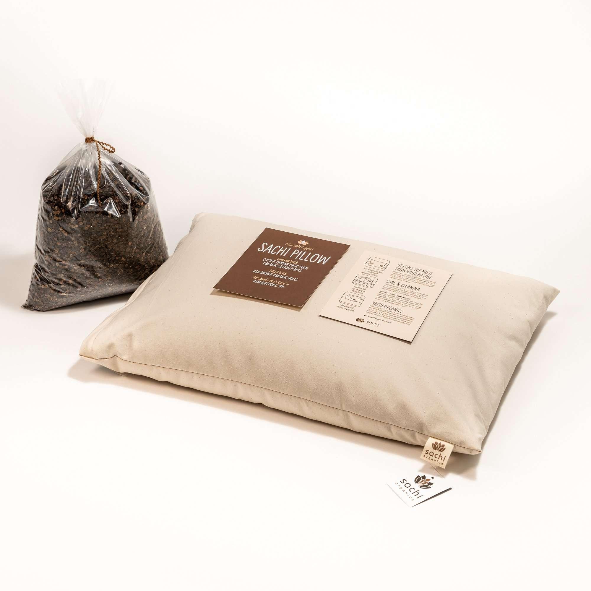 Sachi Organics Japanese Size Buckwheat Pillow