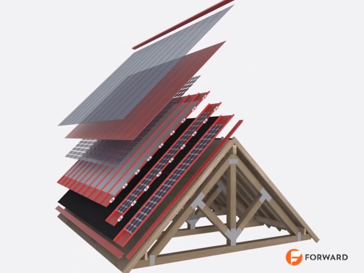 Forward Labs solar roof