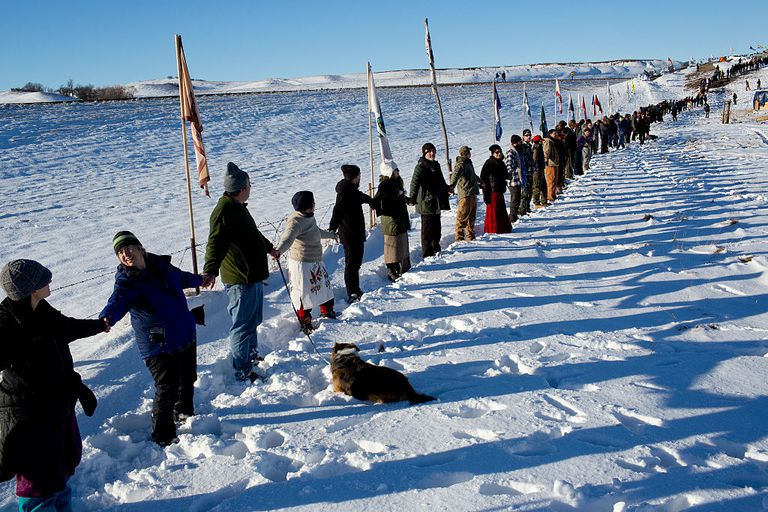 Standing Rock protests against the Dakota Access Pipeline