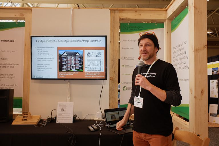 Chris Magwood at the Green Building Show