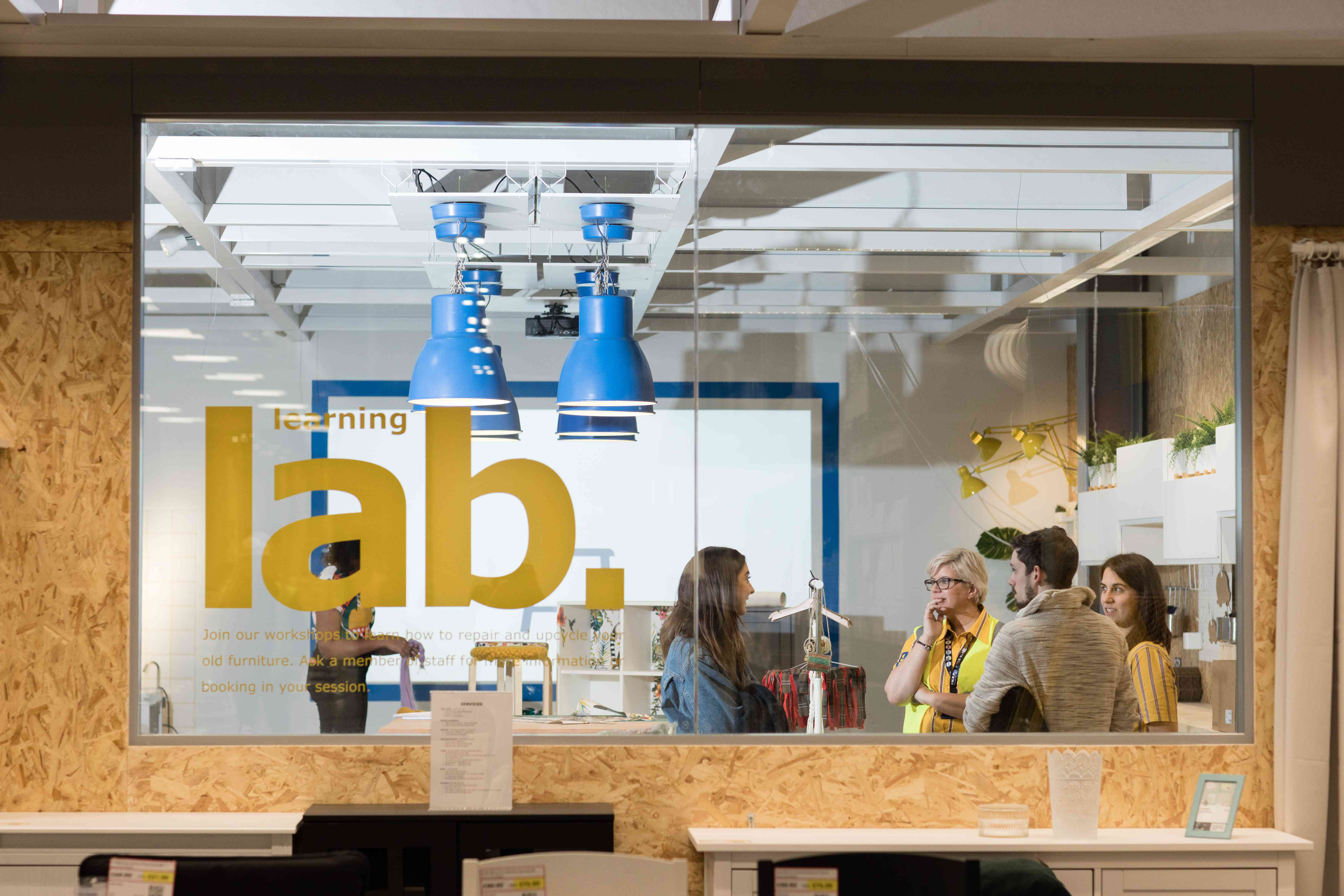 Learning Lab at Ikea Greenwich store, London
