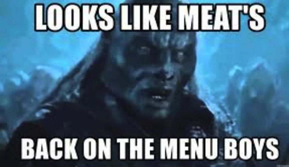 meme from Lord of the Rings