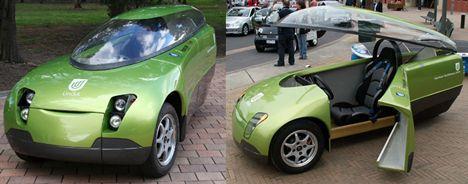Conoce a Trev, el vehículo biplaza de energías renovables