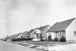 View of Levittown, New York