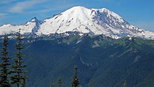 Mark Wedeven golpeado por una avalancha en el monte Rainier