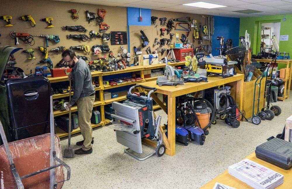 tools at The Sharing Depot