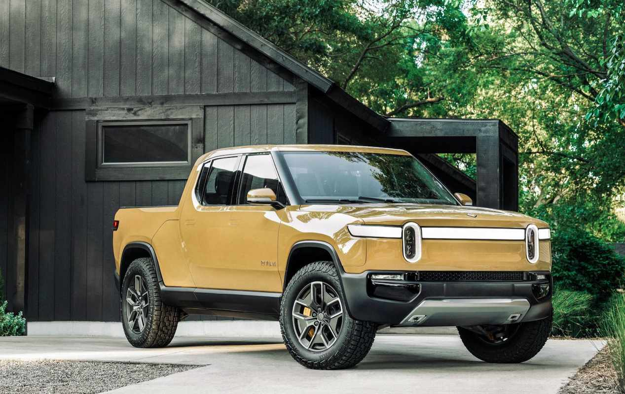 Rivian's pickup will stress performance and off-road ability. Initially, it's pricey.