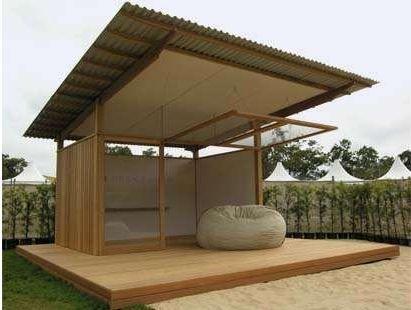 Deck_House: Pequeña y hermosa casa prefabricada