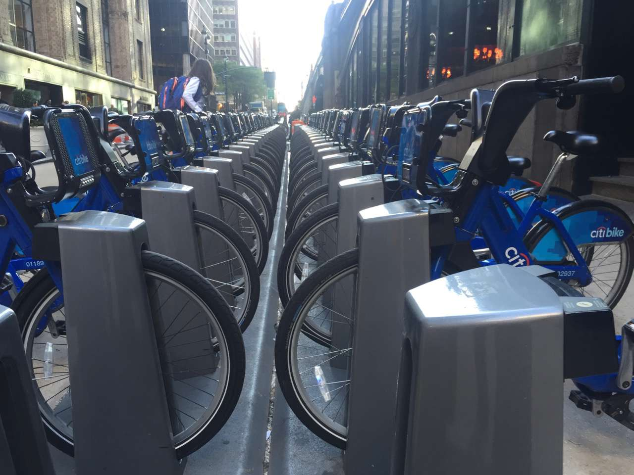 Citibikes at Grand Central