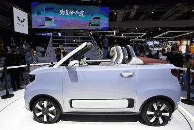 Wuling Hongguang Mini electric vehicle