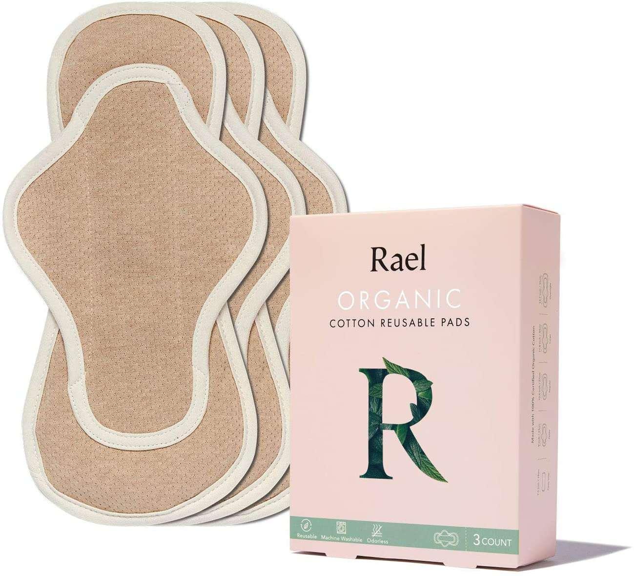 Rael Organic Reusable Pads
