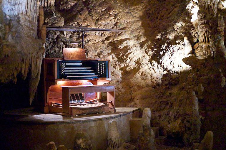 Stalacpipe Organ Luray Caverns