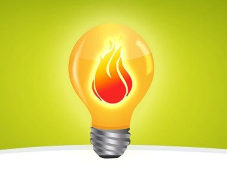 incandescent bulbs produce more heat than light image