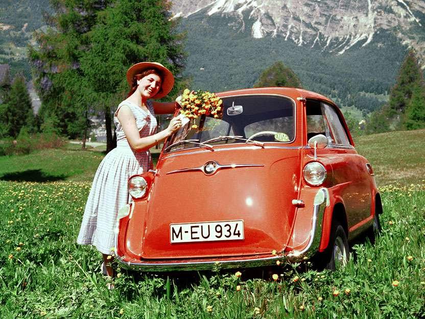 Go off-road in your Izetta!