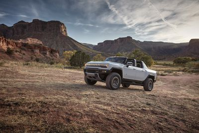 The $2.5 million paid for the very first Hummer electric pickup must be an auction record for any EV.