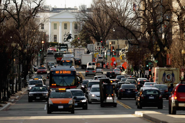 Traffic in Washington, D.C.