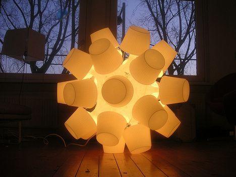 IKEA lampan sphere photo