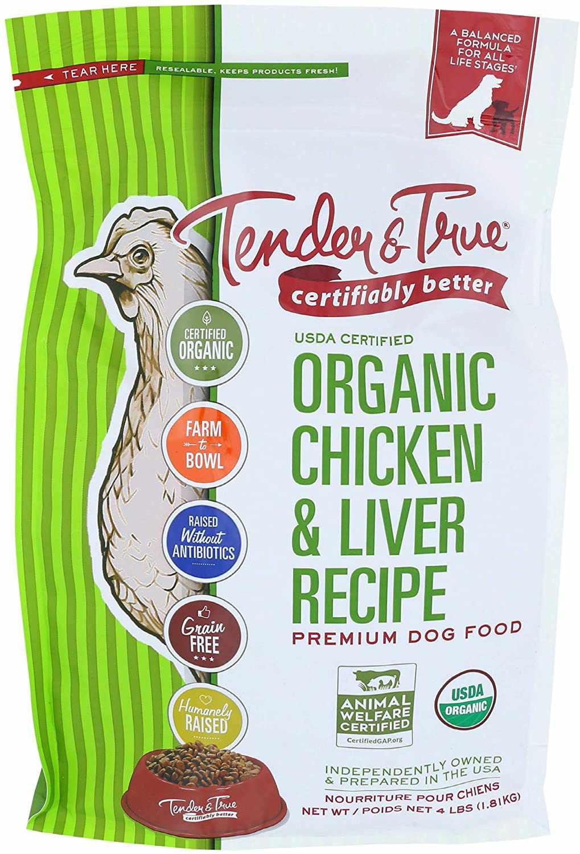 Tender & True Organic Chicken & Liver Recipe