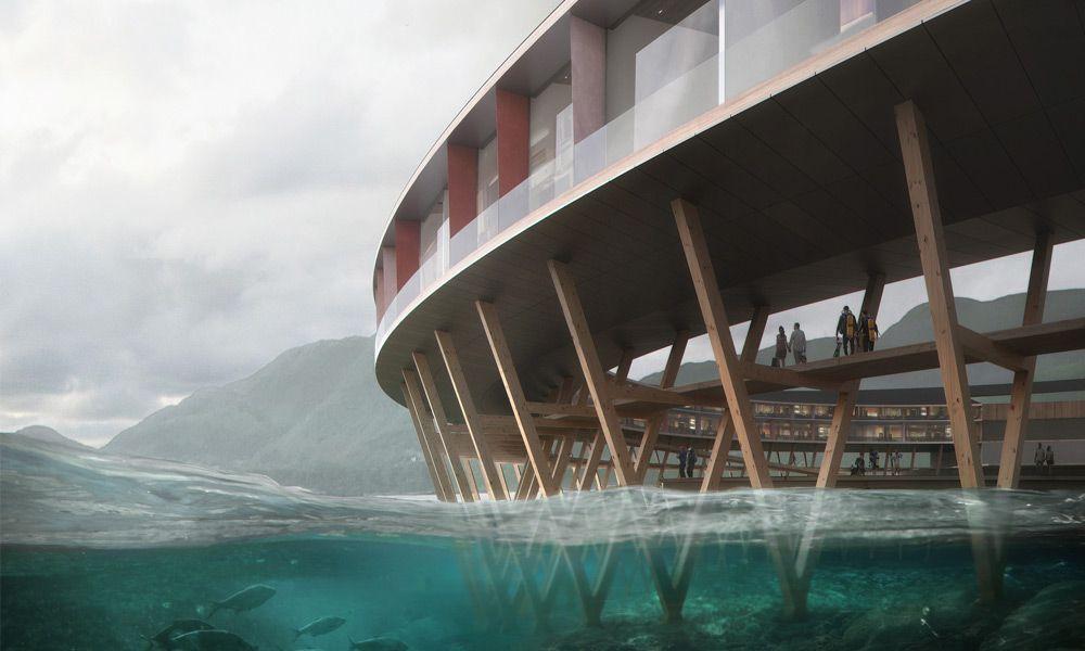 Lake view, Svart Hotel, Norway