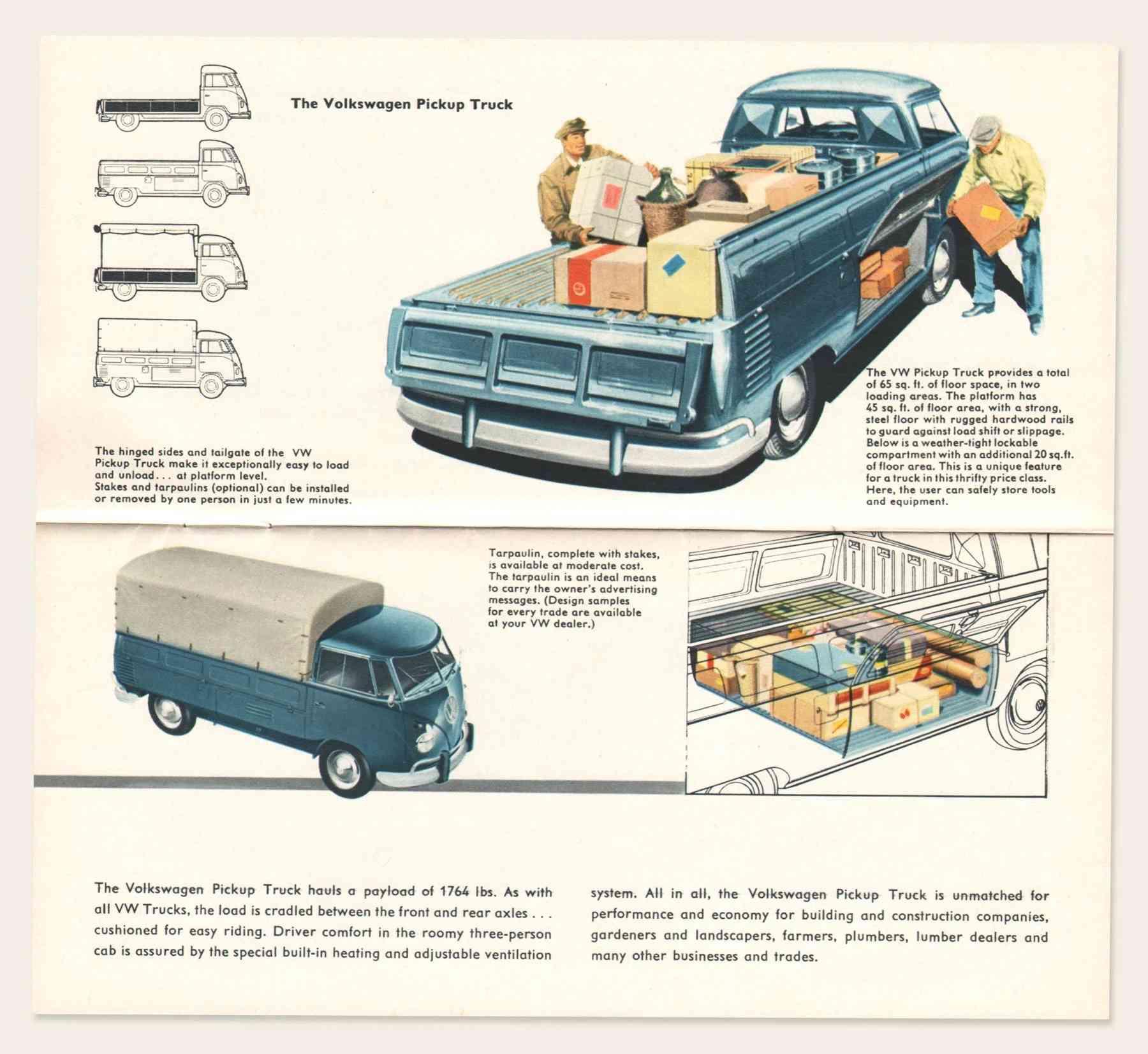 VW pickup truck